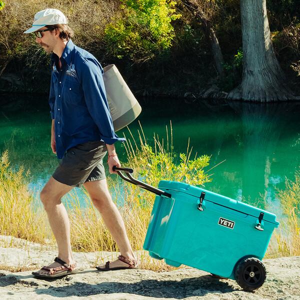 Shop the Tundra Haul Wheeled Cooler